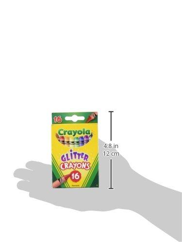 Crayola 16pcs Glitter Crayons Set for School Kids