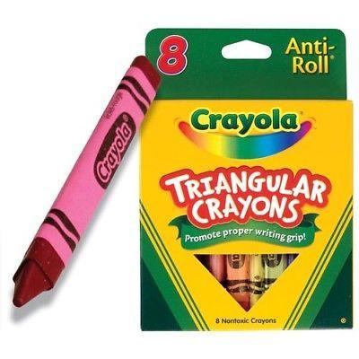 Crayola Triangular Crayons 16 Color Box 1