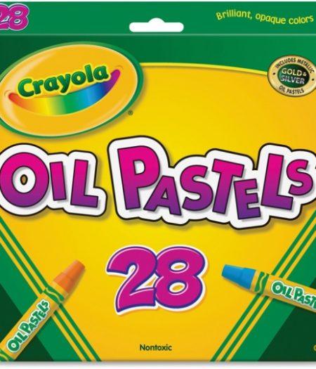 Crayola Jumbo Sized Oil Pestels Set of 28 Colors 2