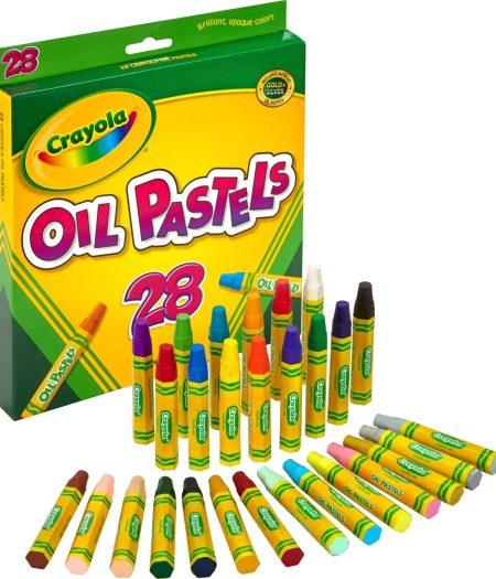 Crayola Jumbo Sized Oil Pestels Set of 28 Colors