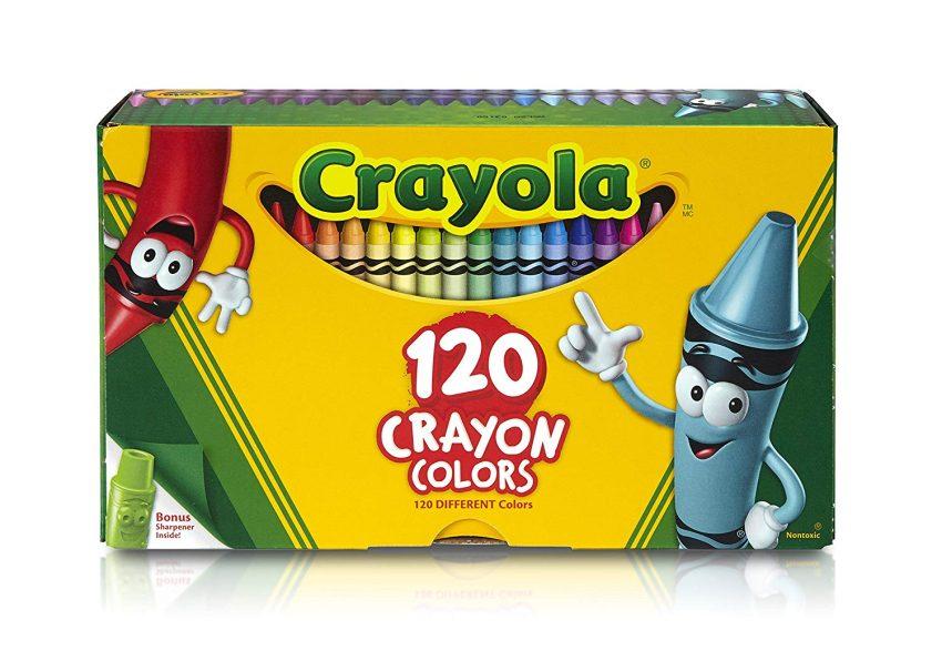 Crayola Classic Color Crayons Tuck Box 120 Colors 1