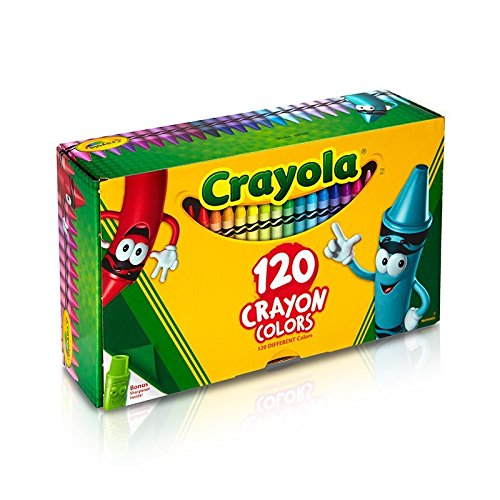 Crayola Classic Color Crayons Tuck Box 120 Colors 2