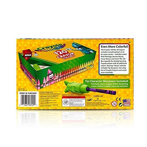 Crayola Classic Color Crayons Tuck Box 120 Colors 3