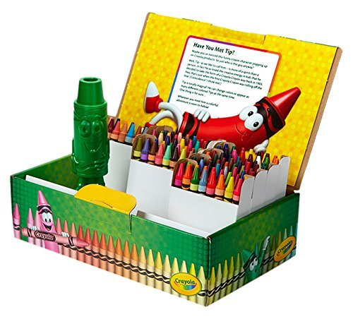 Crayola Classic Color Crayons Tuck Box 120 Colors 4