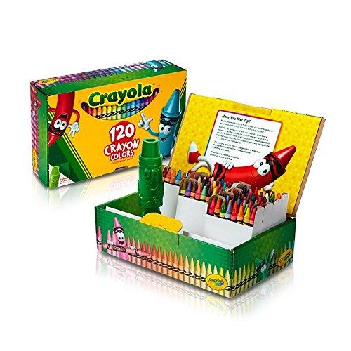 Crayola Classic Color Crayons Tuck Box 120 Colors