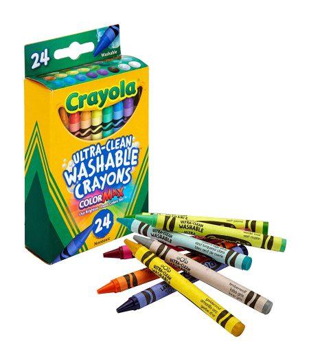 Crayola Washable Crayons School Supplies 24 Count 4