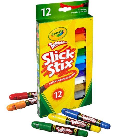 Crayola 12pcs Twistables Slick Stix Color Set