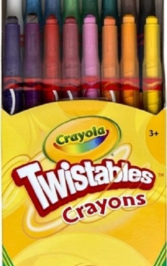 Crayola Twistable Crayons Pack 16 Colors 2