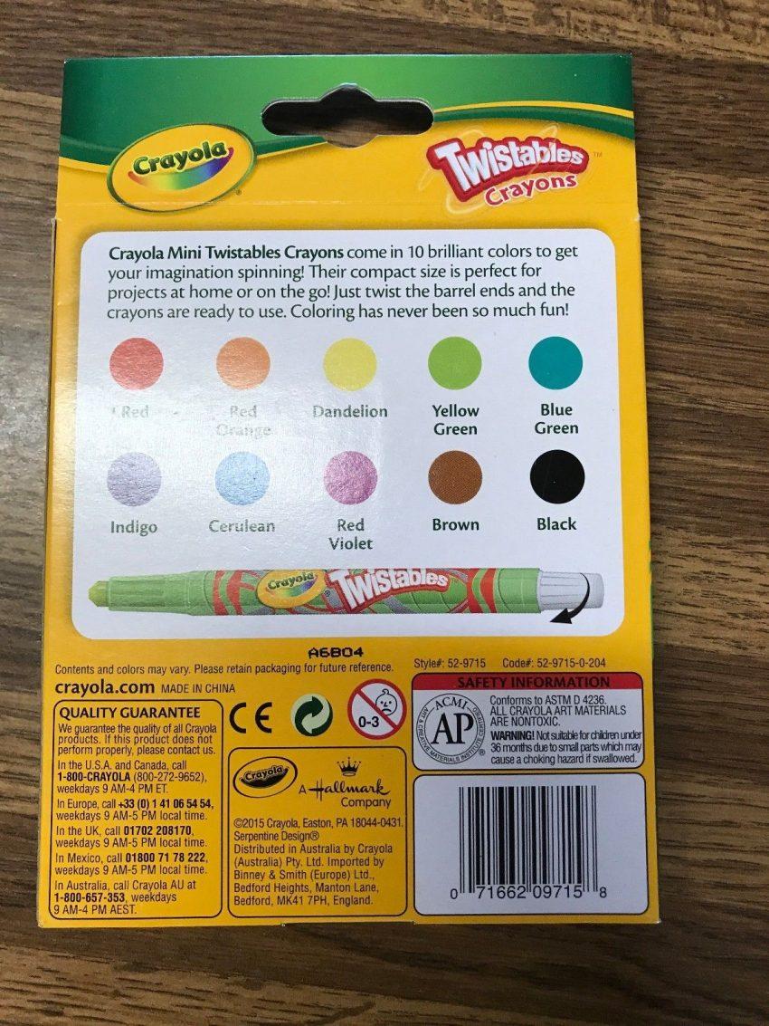 Crayola 10 Twistables Crayons 2