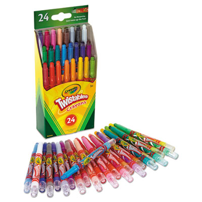 Crayola Twistables Mini Crayons 24 pcs 1