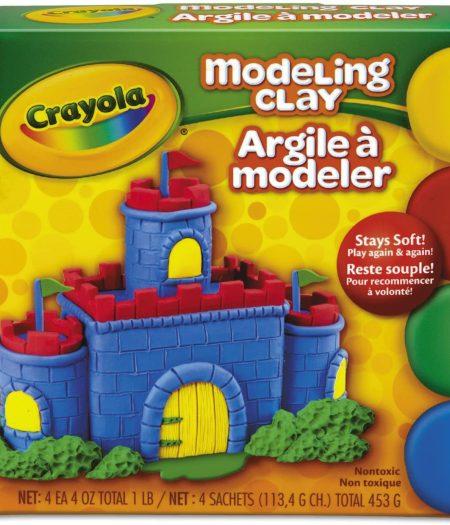 Crayola 4 Color Modeling Clay 2