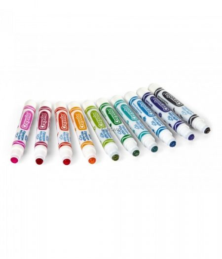 Crayola Ultra-Clean Washable Stamper 10 Markers 1