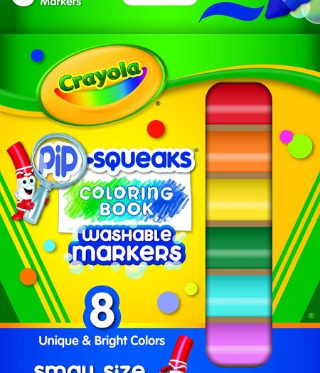 Crayola Pip Squeaks Washable 8 Color Markers 1