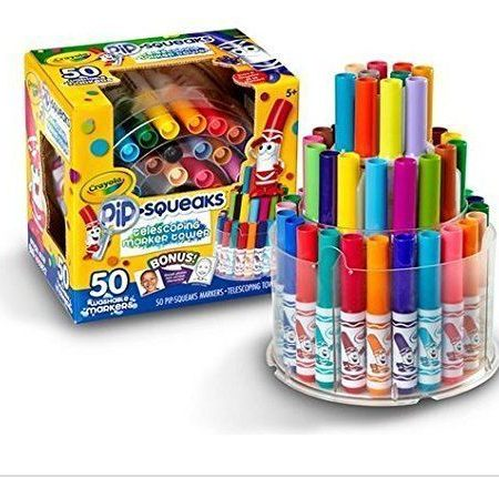 Crayola Pip Squeaks 50 Color Markers Tower 1