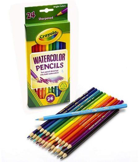 Crayola Watercolor Pencils 24 Color Set 3