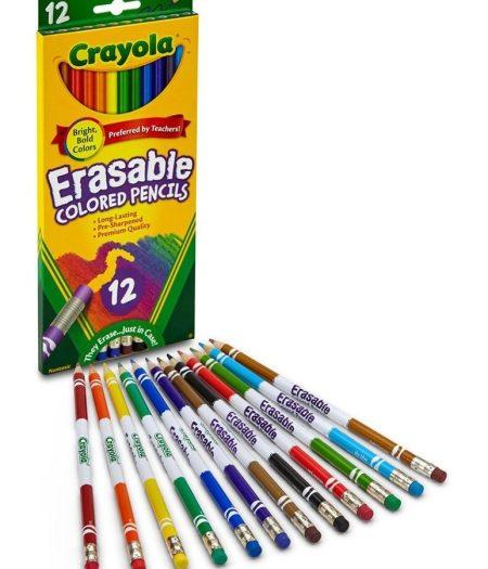Crayola Erasable Colored 12 Pencils 1