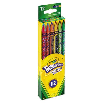 Crayola Twistables Colored 12 Pencils 1