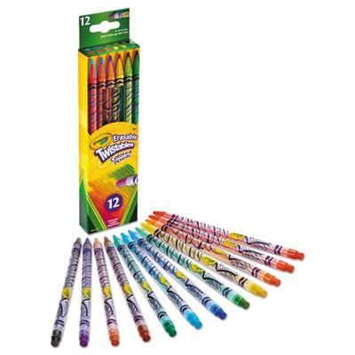 Crayola Twistables Erasable Colored Pencils 12 1