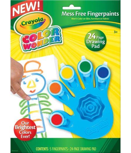 Crayola Color Wonder Mess Free Fingerpaint & Paper For Kids 1
