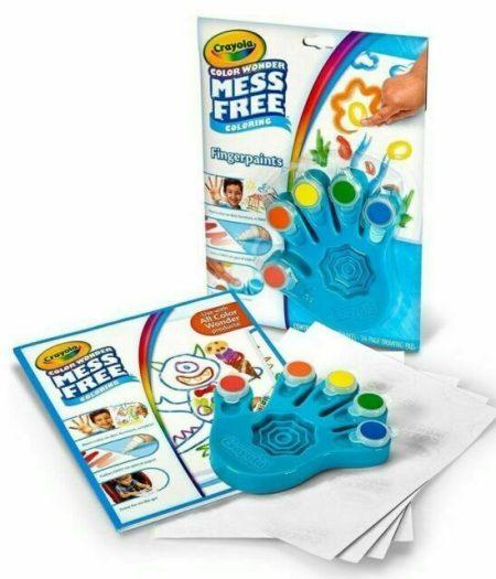 Crayola Color Wonder Mess Free Fingerpaint & Paper For Kids