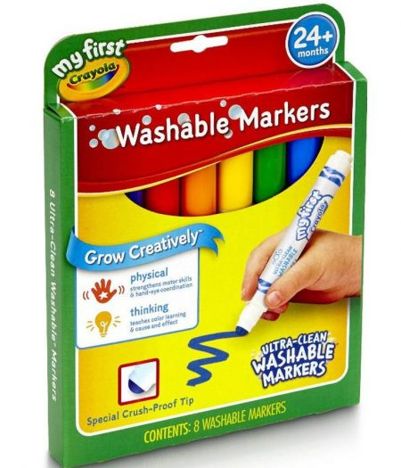 Crayola My First Ultra Clean Washable Color Markers Set 2