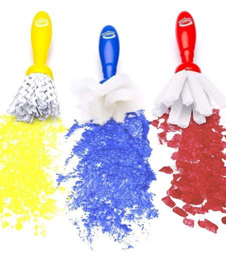 Crayola My First Jumbo 3 Paint Brushes 4